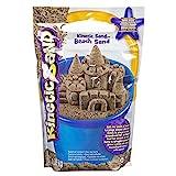 Kinetic Sand 6028363 - Kinetic Sand Beach Sand, Strandsand (1,4 kg), Sand aus Schweden, Sand fürs Kinderzimmer