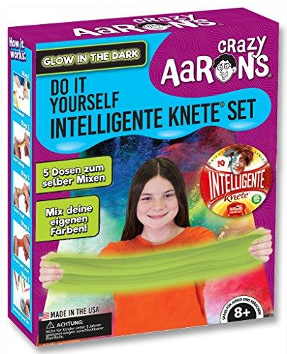 Intelligente Knete DO IT Yourself Set (Leucht Set) BPA- und glutenfrei