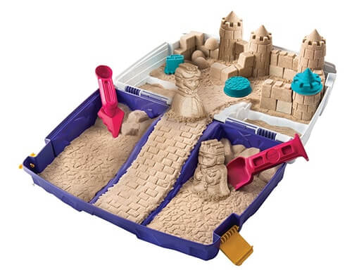 kinetic sand folding sandbox sandburg set
